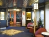 2643 IRISH FERRIES Oscar Wilde Merrion lounge enterance