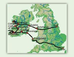 Karte_10_Tage_Faszinierendes_Irland