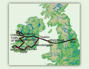 Karte_10_Tage_Rund_um_Irland