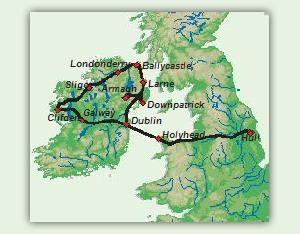 Karte_11_Tage_Auf_den_Spuren_des_Heiligen_Patrick