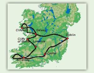 Karte_7_Tage_Flugreise,_klassisches_Irland