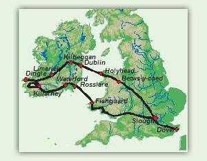 Karte_8_Tage_Irlands_Suedwesten