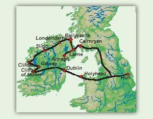 Karte_8_Tage_Unentdecktes_Irland